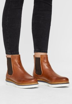 Bianco - WARM CLEATED CHELSEA - Nilkkurit - cognac