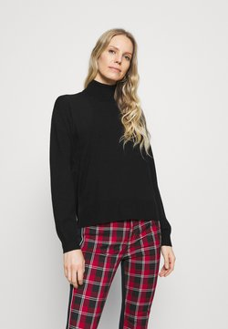 Anna Field - ROLL NECK- LOOSE FIT - Pullover - black