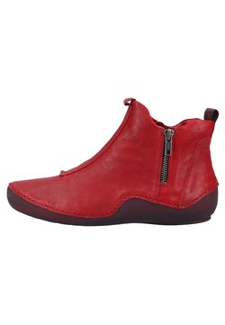 Think! - Ankle Boot - cherry