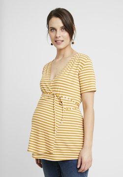Queen Mum - NURS MIAMI - T-Shirt print - sunflower