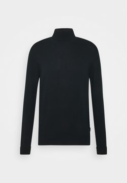 Ben Sherman - SIGNATURE ROLL NECK - Strickpullover - black