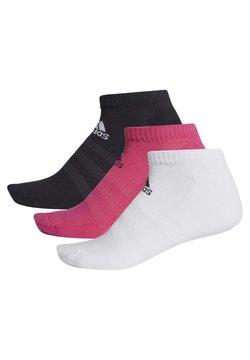 adidas Performance - CUSHIONED LOW-CUT SOCKS 3 PAIRS - Calcetines de deporte - burgundy
