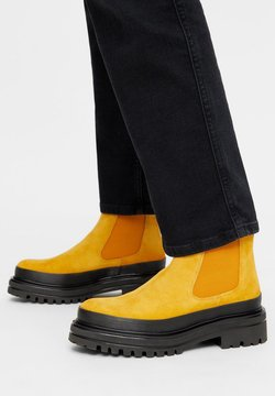 Bianco - BIADICY  - Plateaustiefelette - mustard
