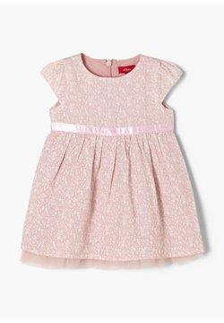 s.Oliver - Korte jurk - light pink aop