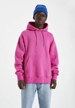 PULL&BEAR - Kapuzenpullover - neon pink