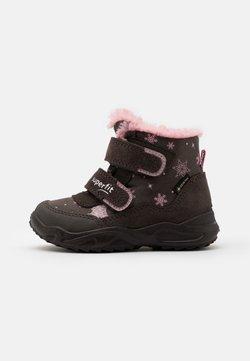 Superfit - GLACIER - Snowboot/Winterstiefel - braun/rosa