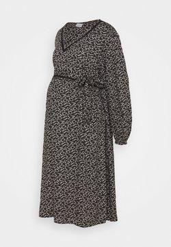 Mamalicious Curve - MLZELINA DRESS - Freizeitkleid - black