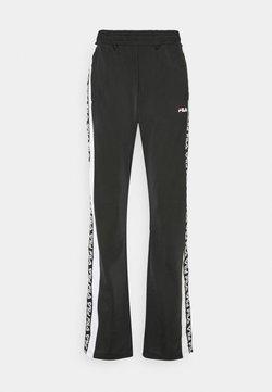 Fila Petite - TAOTRACK PANTS OVERLENGTH - Jogginghose - black/bright white