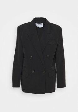Selected Femme - SLFFLOW DOUBLE BREASTED  - Blazer - black