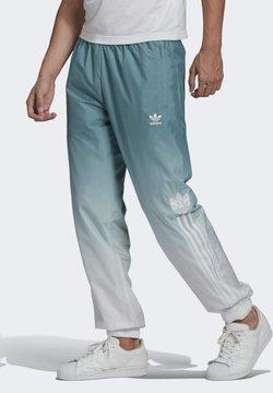 adidas Originals - ADICOLOR 3D TREFOIL 3-STRIPES OMBRÉ TRACKSUIT BOTTOMS - Jogginghose - white