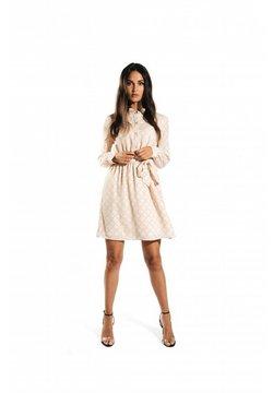 Jacky Luxury - Korte jurk - logo print powder