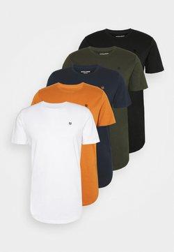 Jack & Jones PREMIUM - JPRBRODY TEE CREW NECK 5 PACK - T-shirt basic - multi