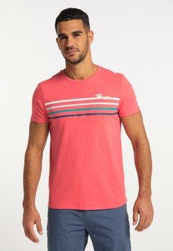 Petrol Industries - T-Shirt print - bright coral