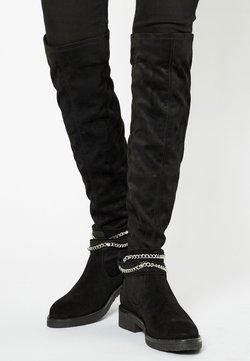 myMo ROCKS - Overknees - black