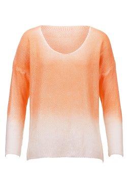 Alba Moda - Langarmshirt - off-white,pfirsich