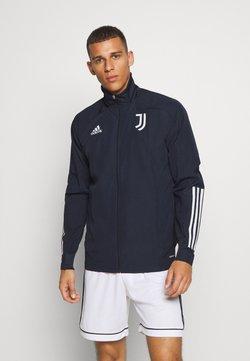 adidas Performance - JUVENTUS SPORTS FOOTBALL TRACKSUIT JACKET - Vereinsmannschaften - legink/orbgrey