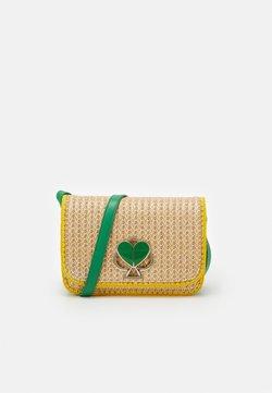 kate spade new york - NICOLA MEDIUM SHOULDER BAG - Torba na ramię - green multi