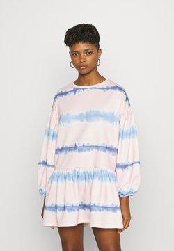 NEW girl ORDER - TIE DYE STRIPE DRESS - Sukienka letnia - pink