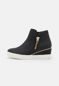 Call it Spring - MARZAN - Bottines compensées - open black