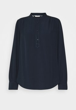 TOM TAILOR - BLOUSE WITH STITCHING DETAILS - Blouse - sky captain blue