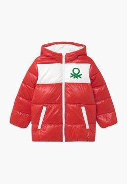 Benetton - Kurtka zimowa - red