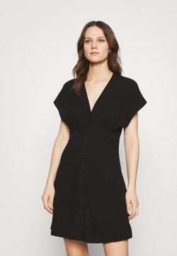 Samsøe Samsøe - VALERIE SHORT DRESS - Vestido camisero - black