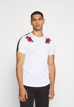Brave Soul - LANTANA - T-Shirt print - optic white