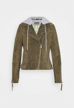 Freaky Nation - DAILY COOL - Giacca di pelle - olive