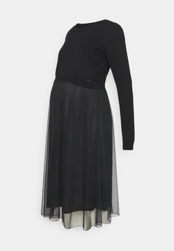 Esprit Maternity - DRESS MIX NURSING - Vestido ligero - gunmetal