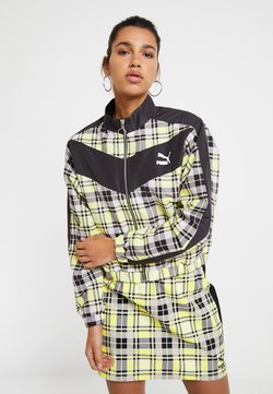 Puma - CHECK JACKET - Windbreaker - yellow cream