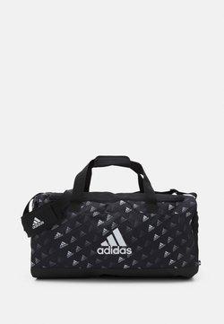 adidas Performance - GRAPHIC UNISEX - Sporttasche - black/white