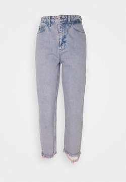 Calvin Klein - CROP MOM PANT - Jeans baggy - victoria blue pink