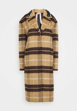 N°21 - Wollmantel/klassischer Mantel - beige/nero