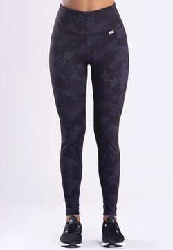Zoe Leggings - LE CAMOUFLAGE  - Tights - black