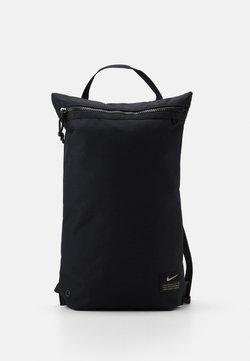 Nike Performance - UTILITY - Rugzak - black/black/enigma stone