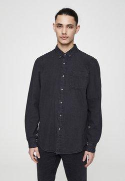 PULL&BEAR - Overhemd - mottled black