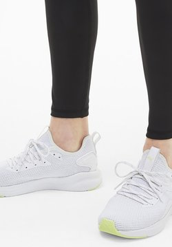 Puma - Chaussures de running stables - white/fizzy yellow