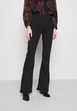 Topshop - JAMIE - Flared Jeans - black