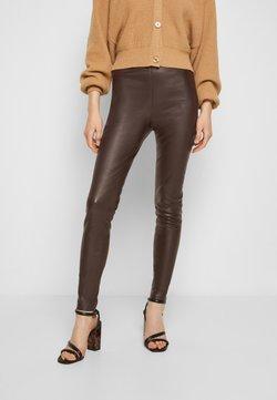 STUDIO ID - LENA - Legging - dark brown