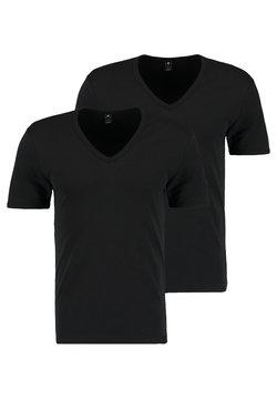 G-Star - BASE 2 PACK - T-Shirt basic - black