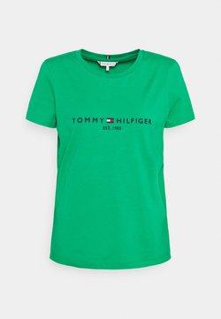 Tommy Hilfiger - REGULAR TEE - T-shirt imprimé - primary green