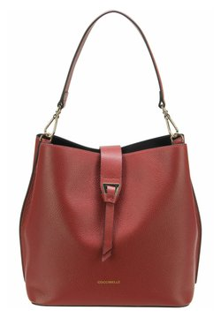 Coccinelle - ALBA BUCKET SHOULDER - Handtasche - foliage red