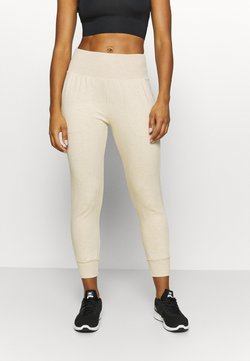 Nike Performance - FLOW HYPER 7/8 PANT - Jogginghose - oatmeal/heather/light orewood brown