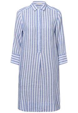 Apriori - Blusenkleid - blau weiß