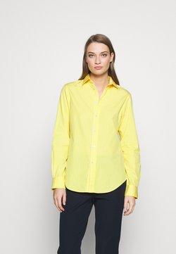 Polo Ralph Lauren - GEORGIA  - Chemisier - yellow/white