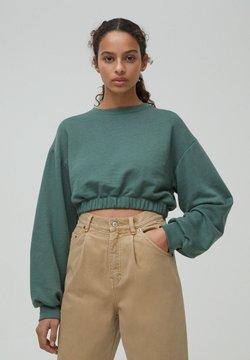 PULL&BEAR - Sweatshirt - green
