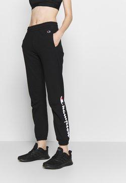 Champion Rochester - ELASTIC CUFF PANTS - Jogginghose - black