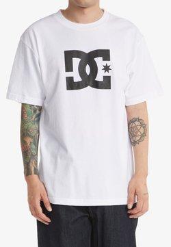 DC Shoes - STAR  - T-shirt print - white