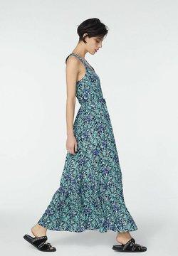 IKKS - SEA FLOWERS MOTIF PRINT  - Maxikleid - blue jean