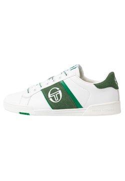 sergio tacchini - PARIGI LTX+SD - Sneaker low - white/green